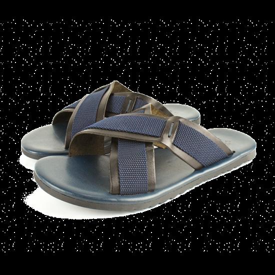 Navy Artigiano And Sandals Italian L' Men's Black Blue ONwP8n0kX